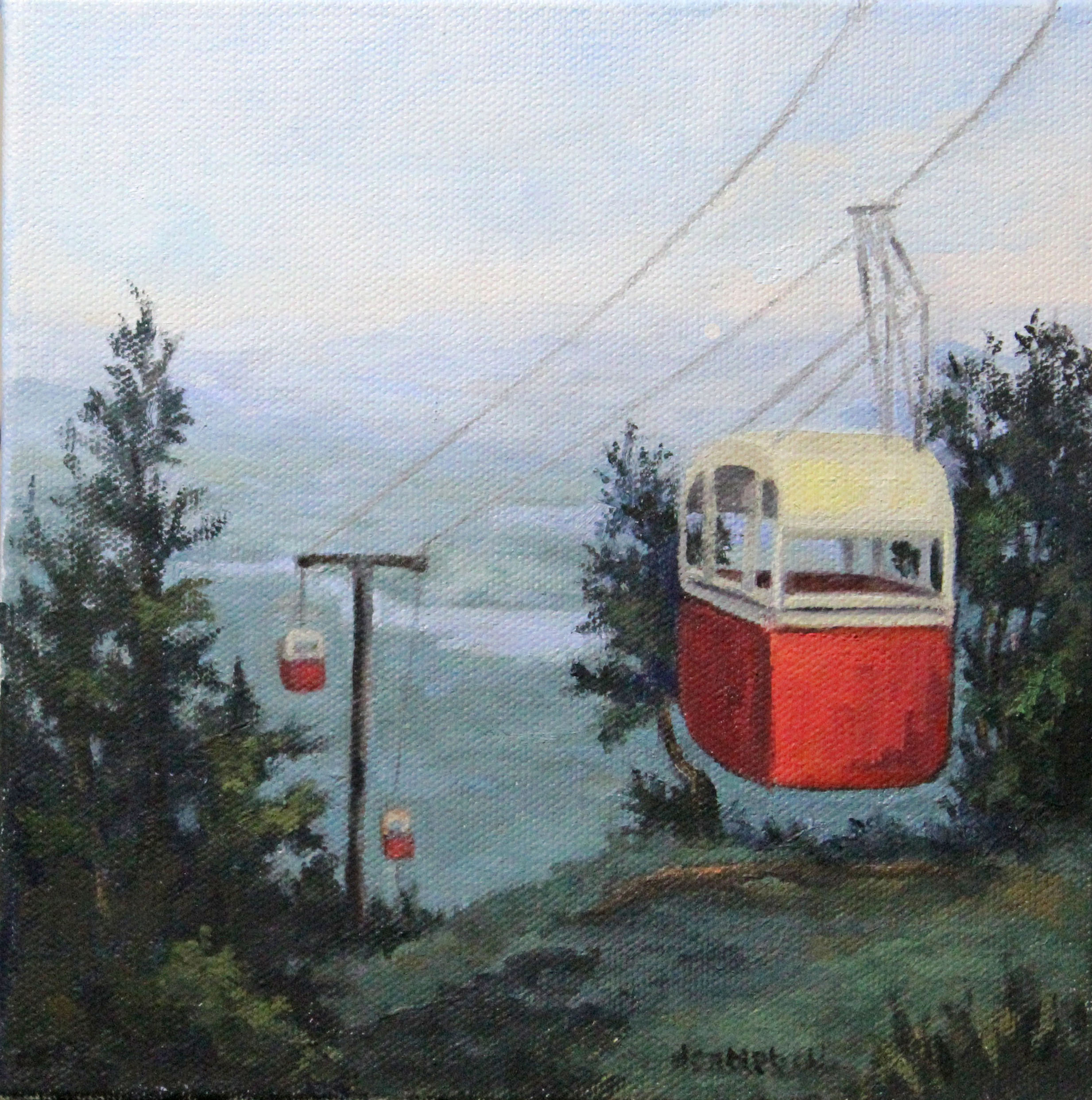 Gondola on Mt. Sunapee