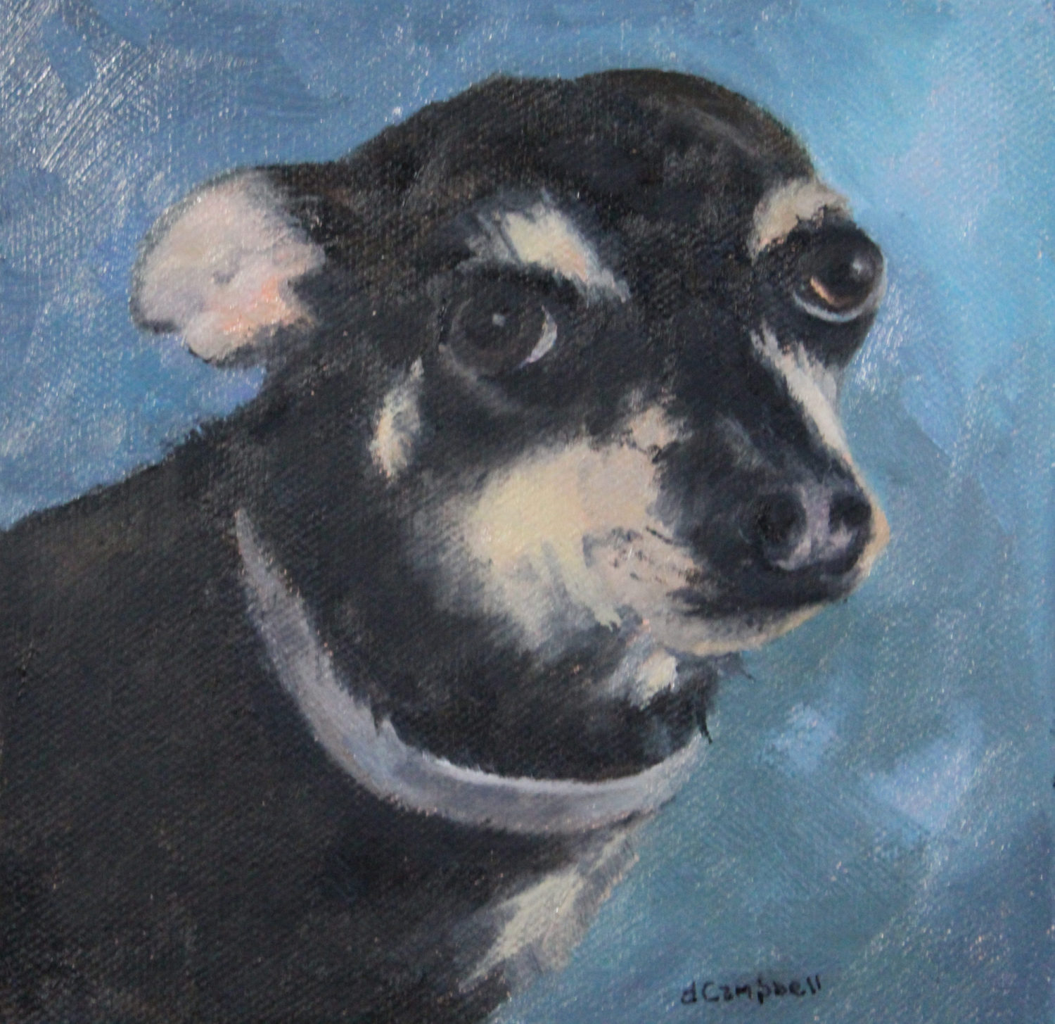 Pet Portrait for Wedding Gift