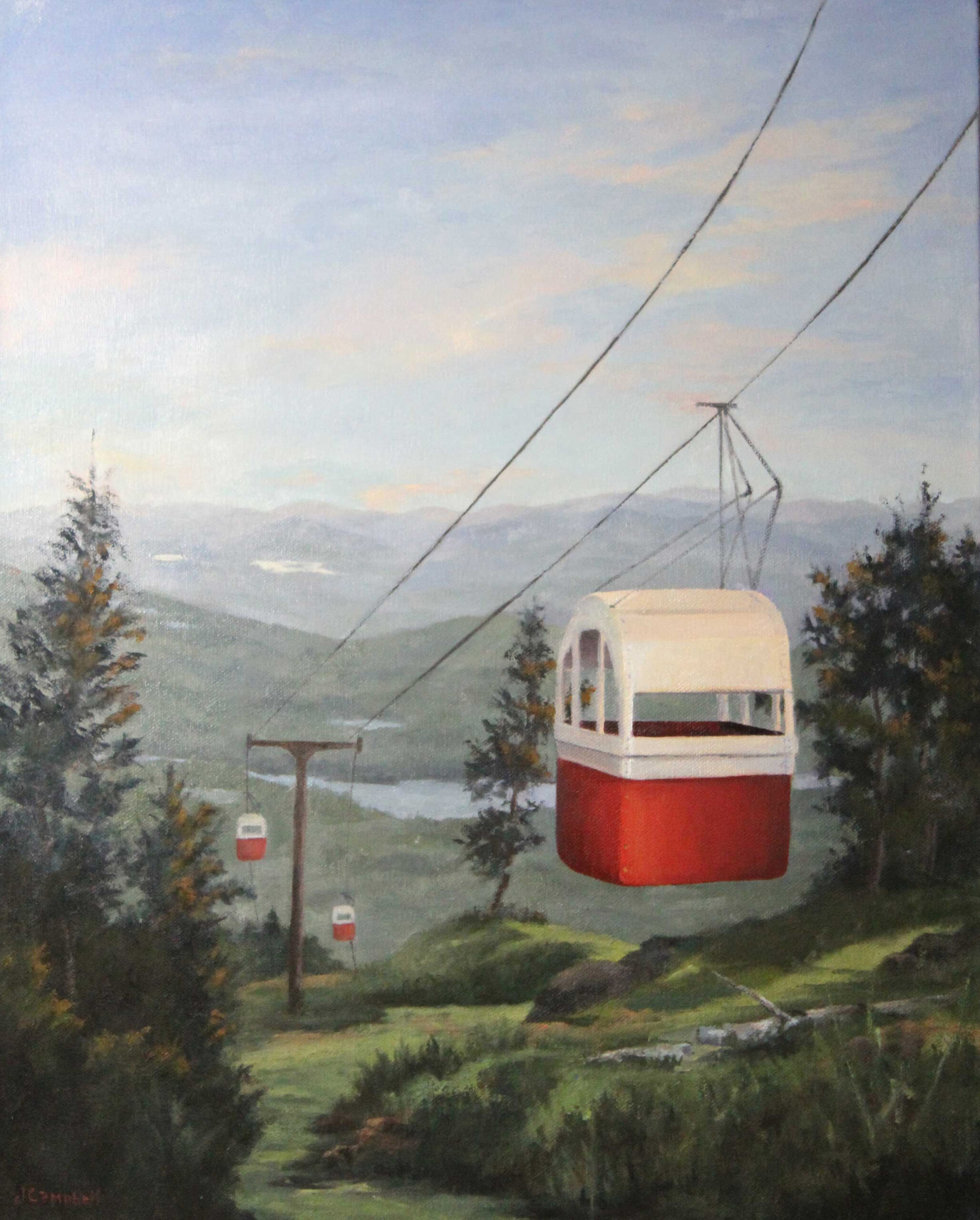 Gondola on Mount Sunapee