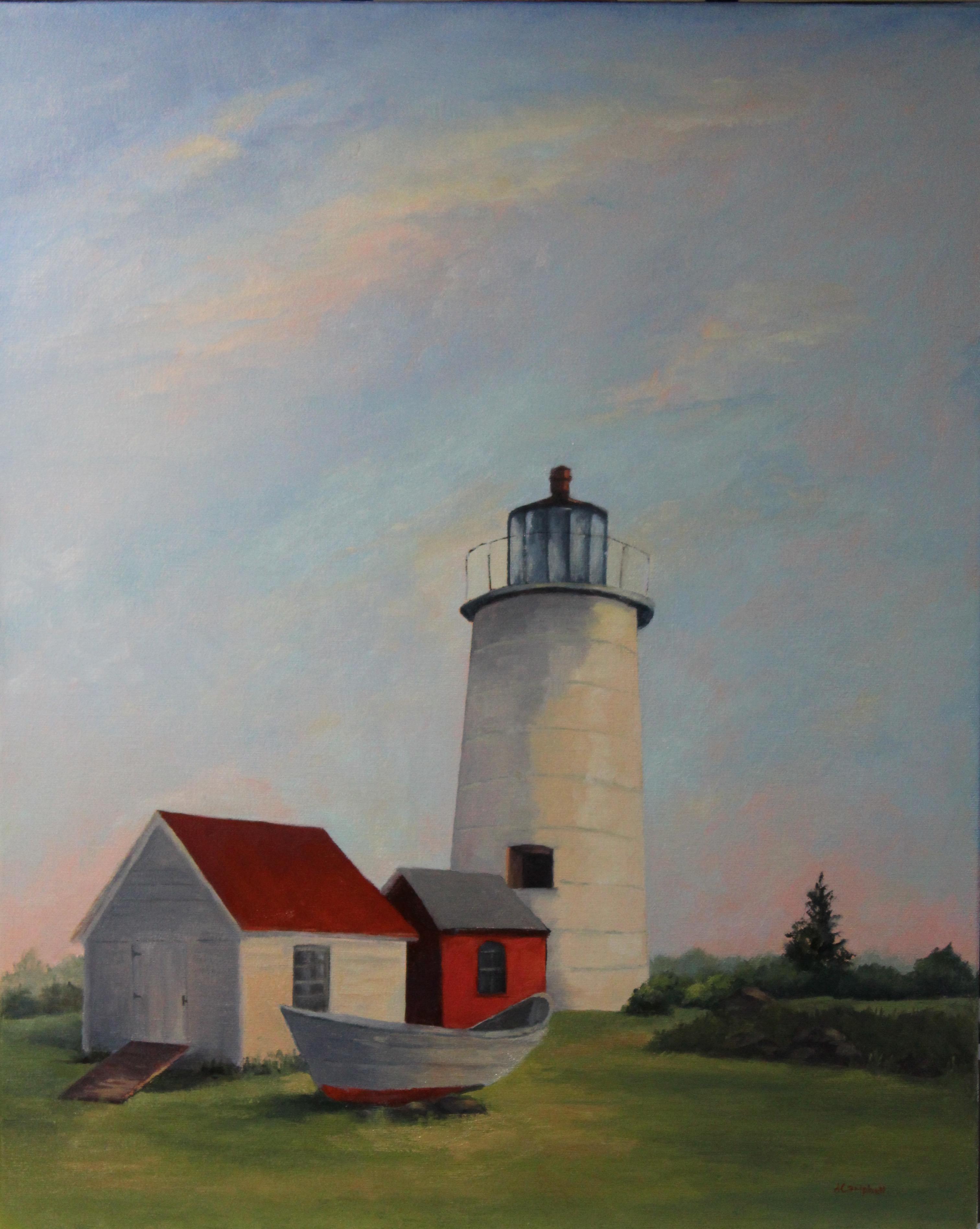 Lighthouse Mnohegan Island