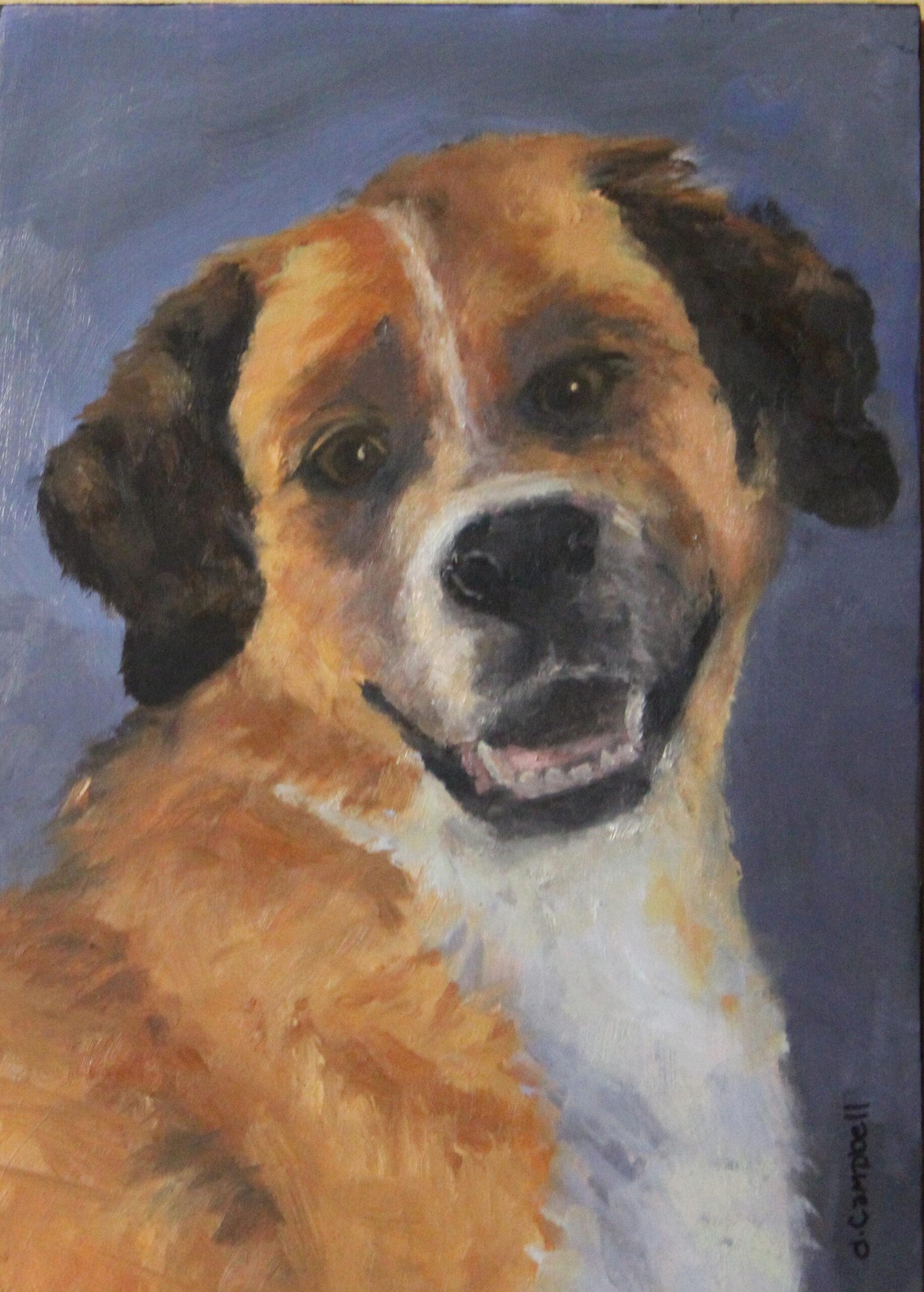 Dog Portrait of Jack