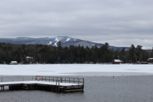 Ski trails on mount sunapee