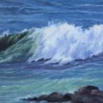 Wave crasing